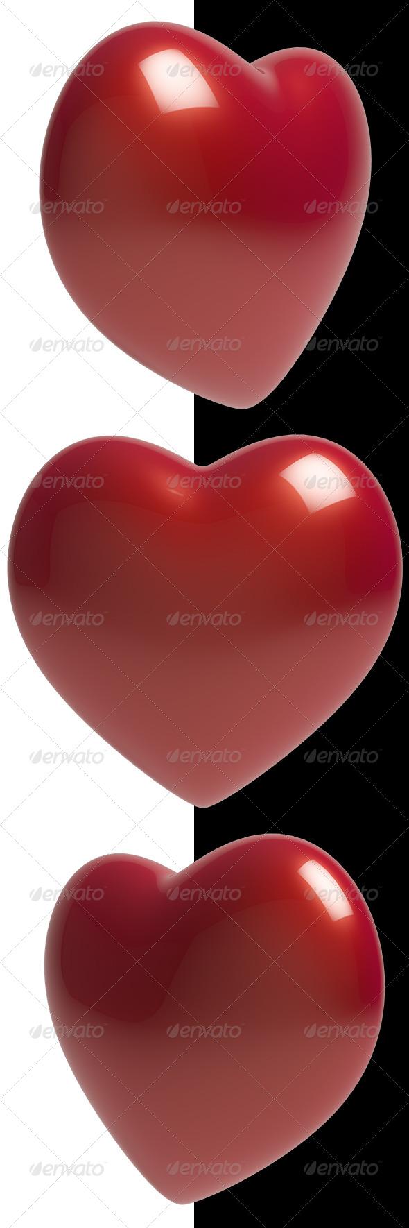 Heart  - 3D Renders Graphics