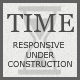 TIME - Responsive Coming Soon Page Nulled