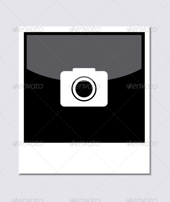 Photo on Gray Background - Web Elements Vectors