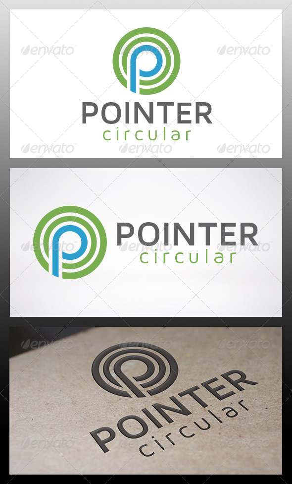 Point Logo - Letters Logo Templates