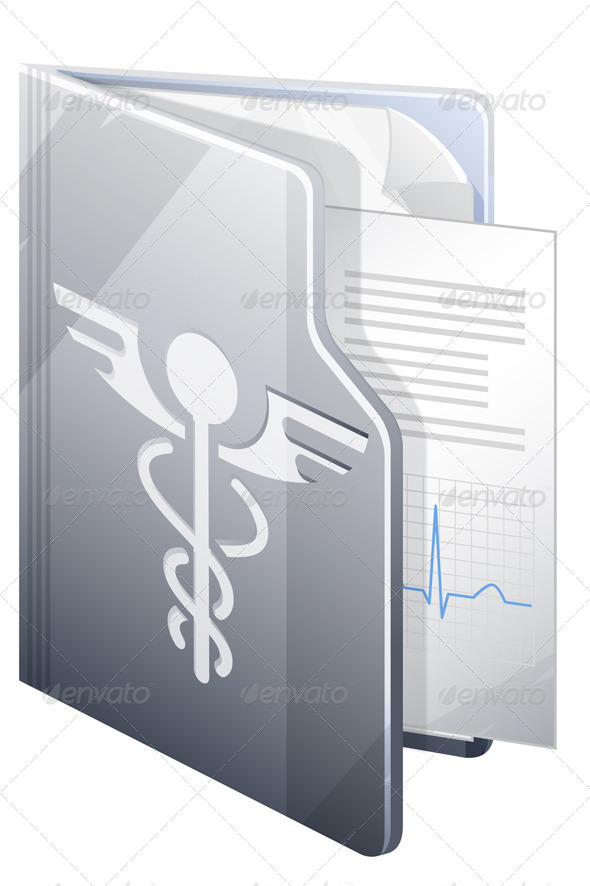 Medical Report - Illustration - Health/Medicine Conceptual