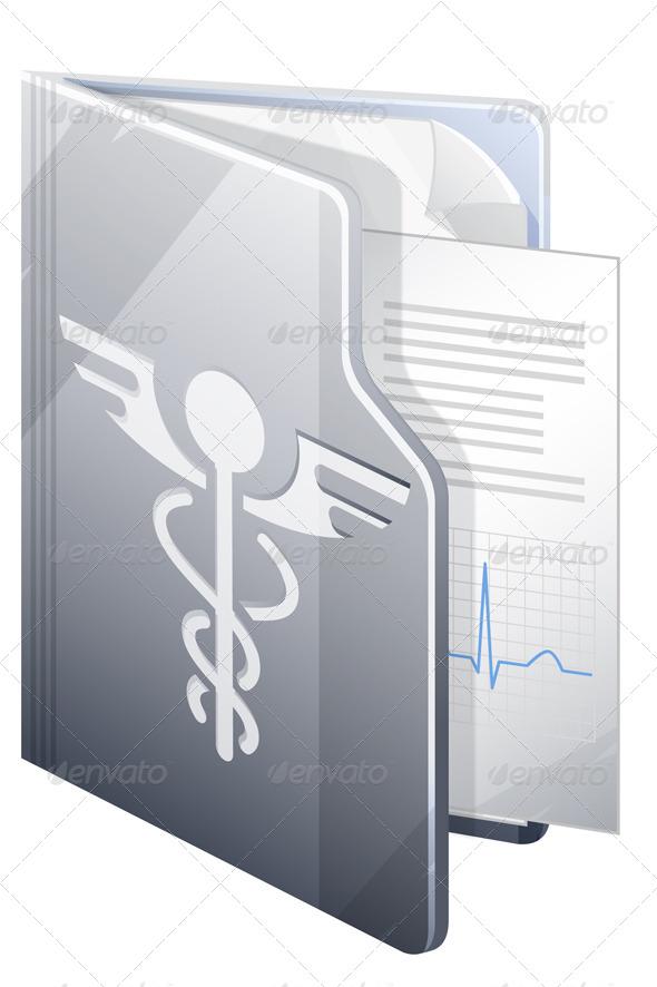 Medical Report - Illustration - Health/Medicine Conceptual