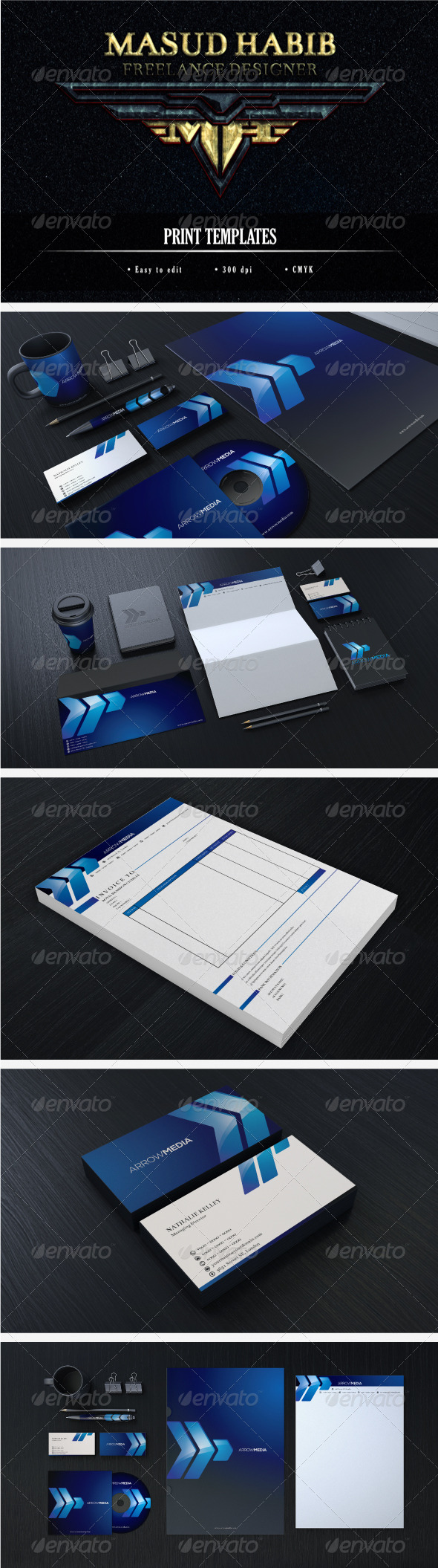 Creative Corporate Identity 11 - Stationery Print Templates