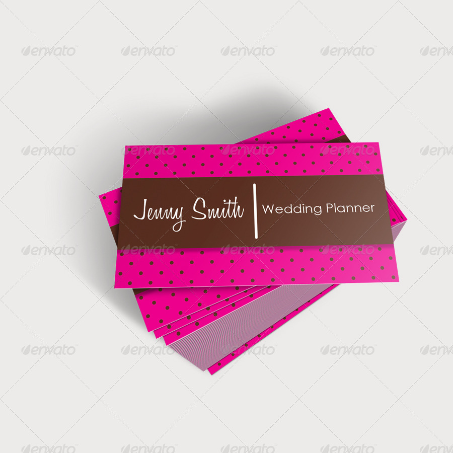wedding planner business cards 2 industry specific business cards previews01_preview1jpg - Wedding Planner Business Cards