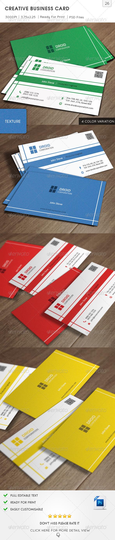 Creative Business Card v26 - Creative Business Cards