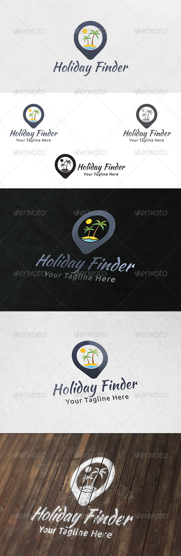Holiday Point - Logo Template - Nature Logo Templates