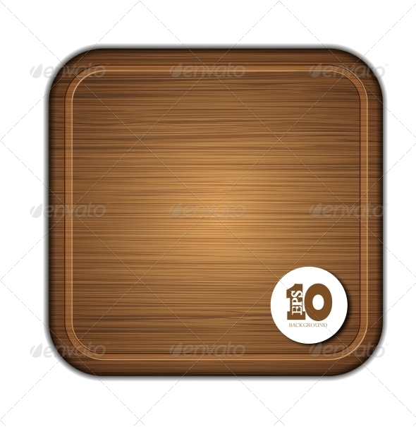 Wooden Cutting Board - Miscellaneous Vectors