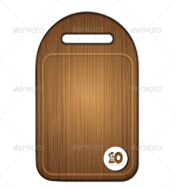 Vector Wooden Cutting Board  - Miscellaneous Vectors