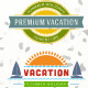 Summer Holiday Badge Vol 2 - GraphicRiver Item for Sale
