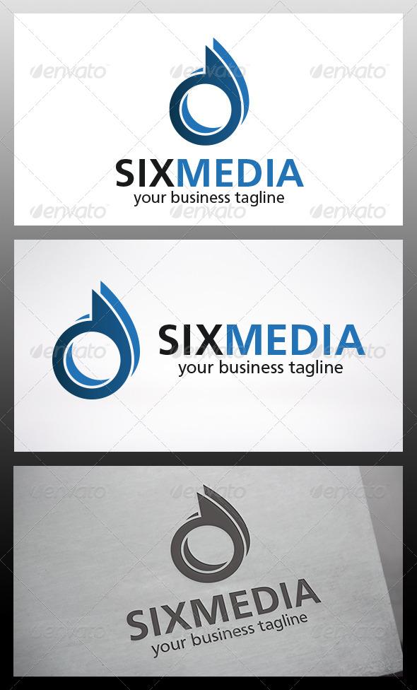 Six Logo - Numbers Logo Templates