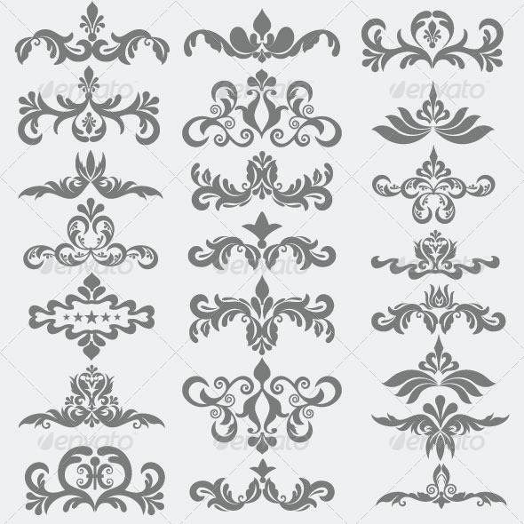 Vintage Design Elements 92 - Decorative Vectors