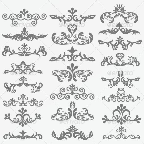 Vintage Design Elements 93 - Decorative Vectors