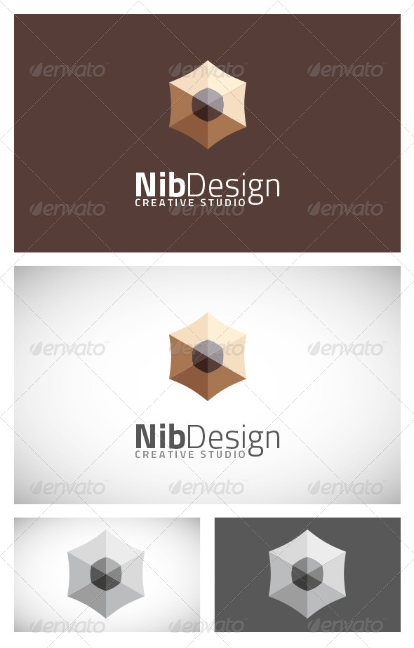 Nib Design - Logo Template - Objects Logo Templates