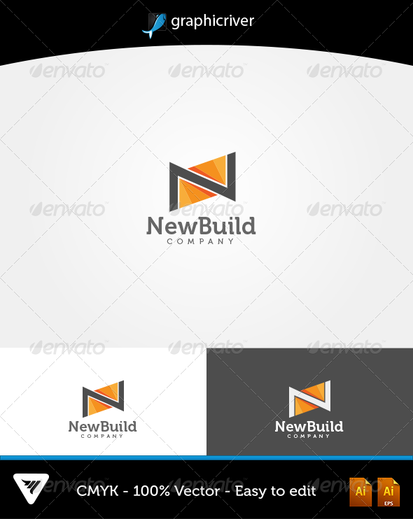 Newbuild Logo - Logo Templates