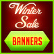 Winter Sale Web Banner Set - GraphicRiver Item for Sale