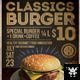 Classic Burger Flyer - GraphicRiver Item for Sale