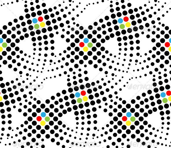 Dots Seamless Pattern - Patterns Decorative