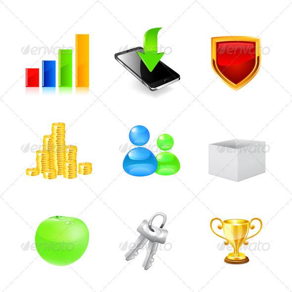 Web Icon Set - Conceptual Vectors