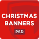 Christmas Banners - Colorful Web Banner Set - GraphicRiver Item for Sale