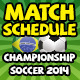 Brazil Match Schedule Championship Soccer 2014 - GraphicRiver Item for Sale