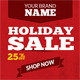 Holiday Sale Web Ad Banners - Multipurpose - GraphicRiver Item for Sale