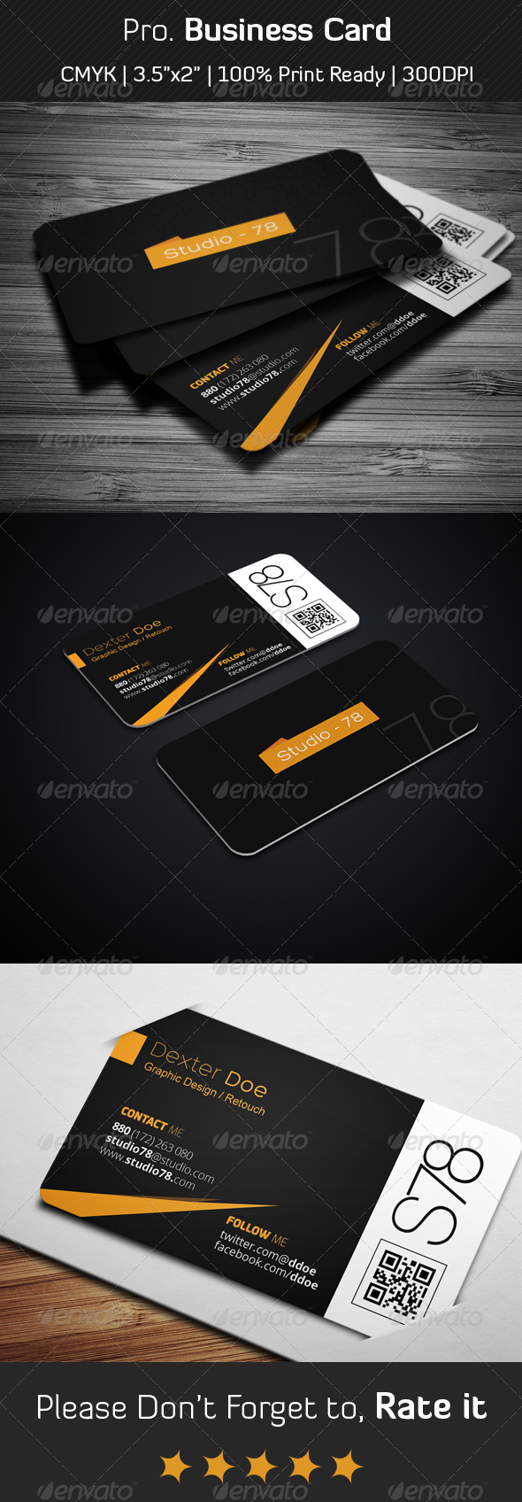 Pro Business Card - Creative Business Cards