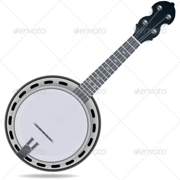 Banjo Fiddle Instrument - Media Technology