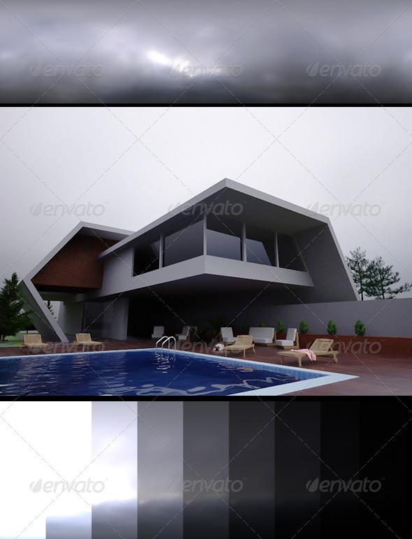 Realsky HDRI Overcast 1530 - 3DOcean Item for Sale