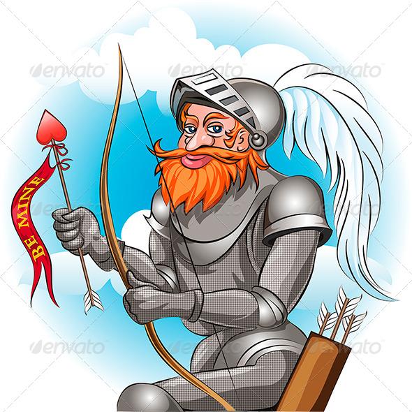 Knight in Love - Valentines Seasons/Holidays