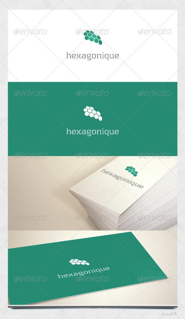 Hexagonique Logo - Symbols Logo Templates