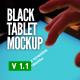 Black Pad | Tablet App UI Mock-Up - GraphicRiver Item for Sale