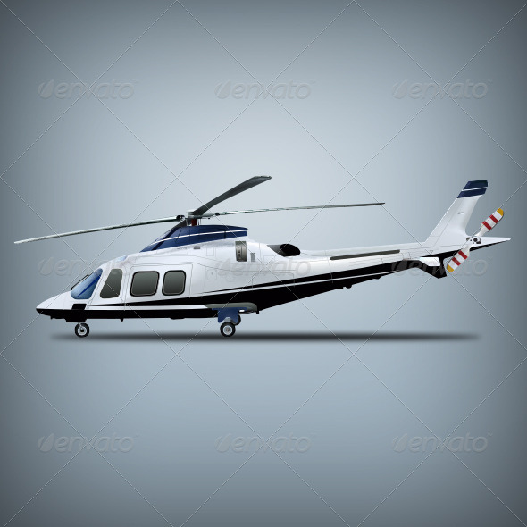 Vector Realistic Helicopter