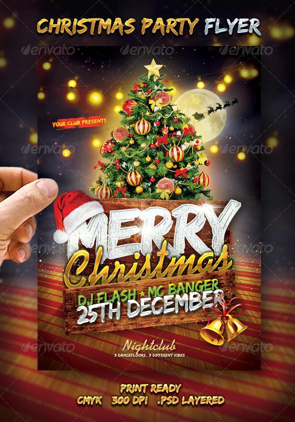 merry christmas flyer by larajtwyss graphicriver