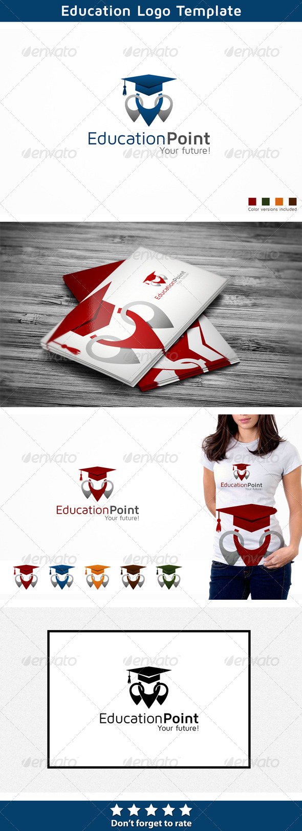 Education Logo - Symbols Logo Templates