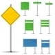 Blank Road Signs - GraphicRiver Item for Sale