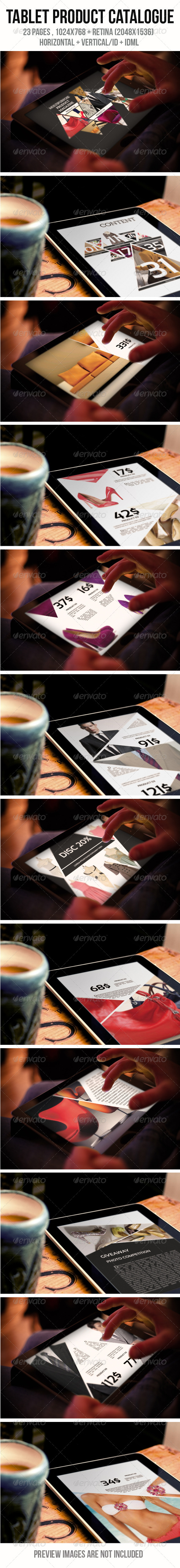 iPad & Tablet Product Catalogue - Digital Magazines ePublishing
