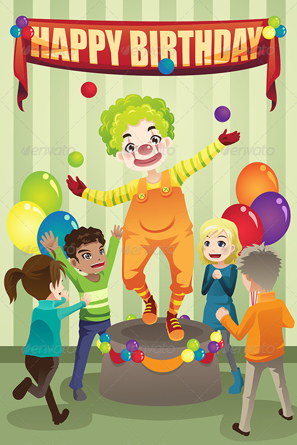 Birthday Party Clown - Birthdays Seasons/Holidays