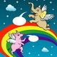 Angel Pig and Elephant Illustration - GraphicRiver Item for Sale