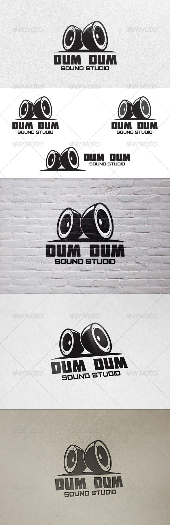 Sound Studio - Logo Template - Objects Logo Templates