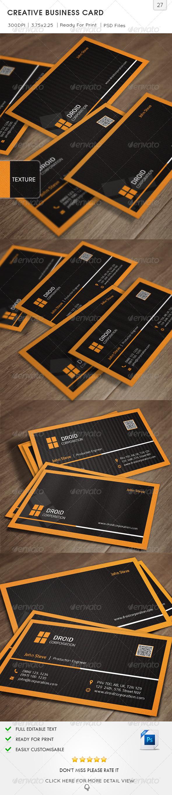 Creative Business Card v27 - Creative Business Cards