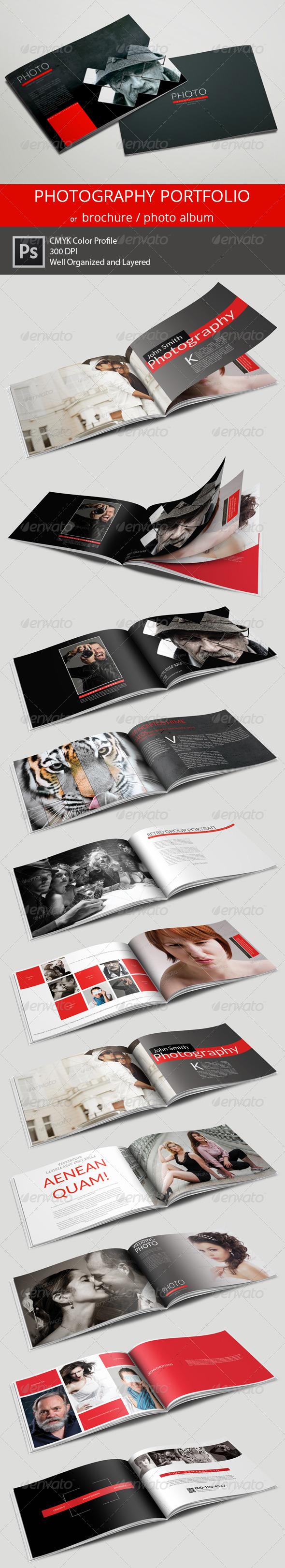 20 Pages Photography Portfolio or Photo Album - Portfolio Brochures