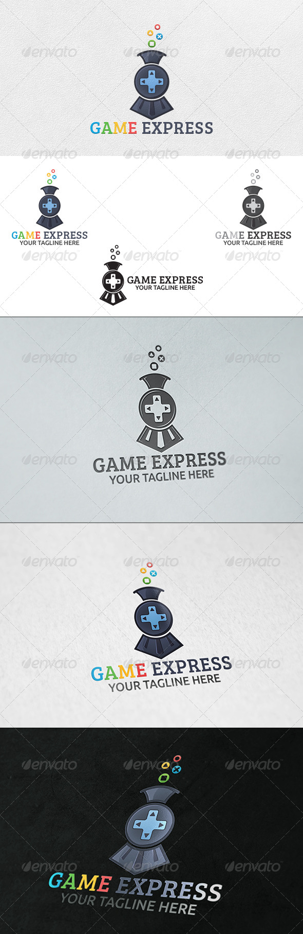 Game Express - Logo Template - Symbols Logo Templates