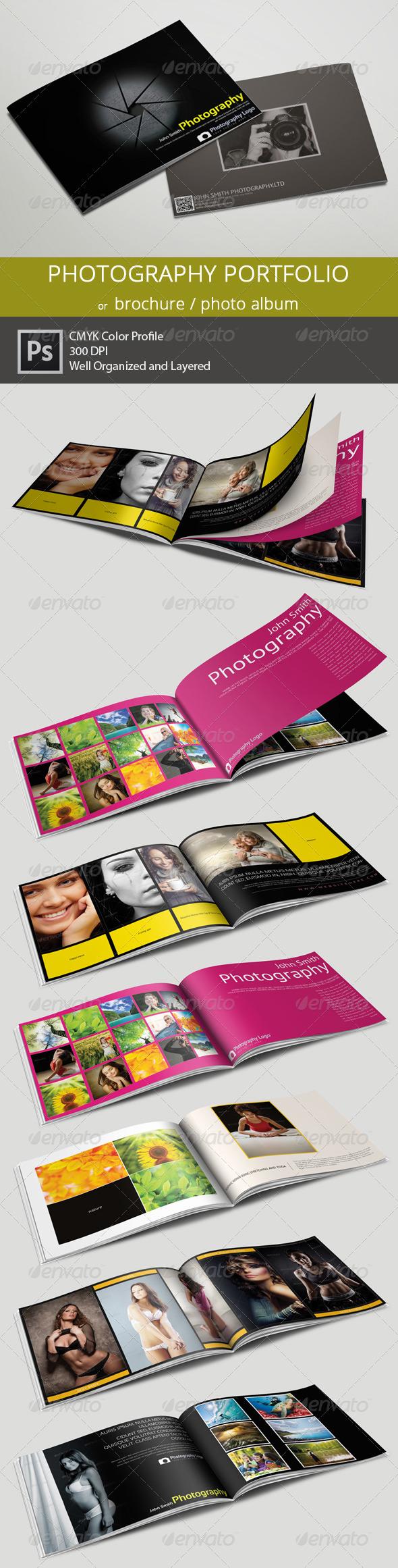 Photography Portfolio/Brochure or Photo Album - Portfolio Brochures