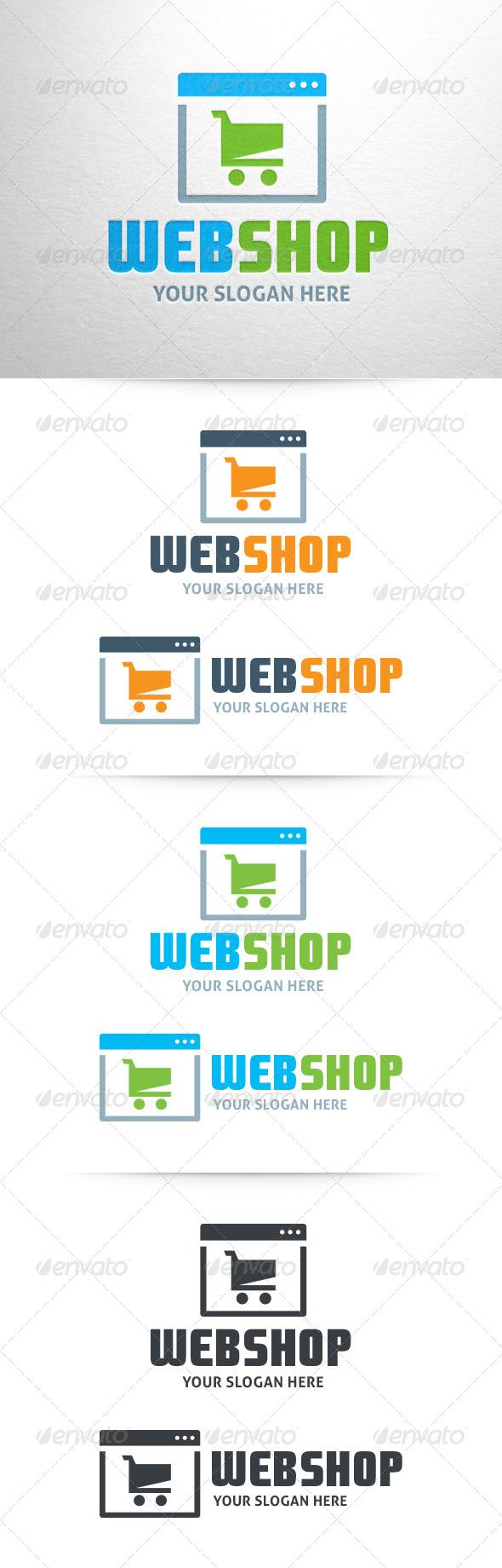 Webshop Logo Template - Objects Logo Templates