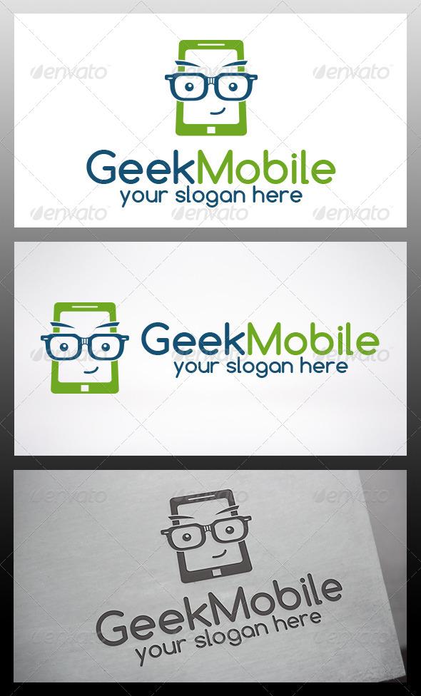 Geek Phone Logo - Objects Logo Templates