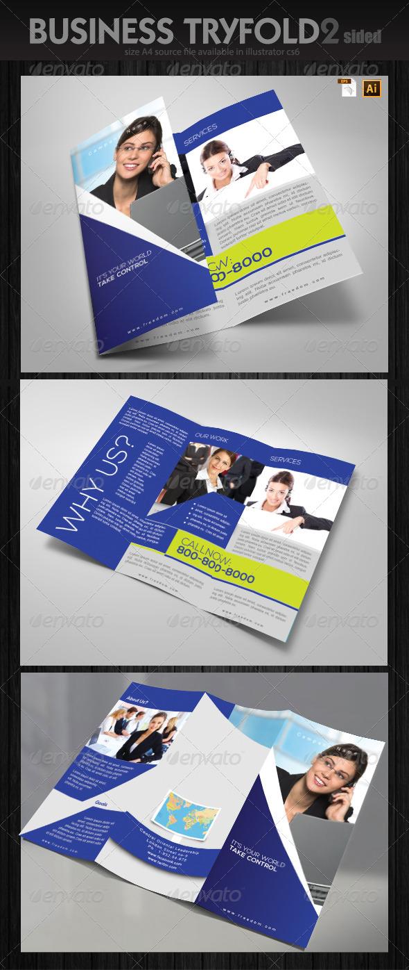 Service Brochure Design  - Brochures Print Templates