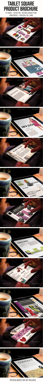 iPad & Tablet Square Product Brochure - Digital Magazines ePublishing