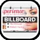 Flower Holistic Healing Spa Billboards - GraphicRiver Item for Sale