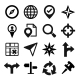 Map, GPS and Navigation Icons Set - GraphicRiver Item for Sale