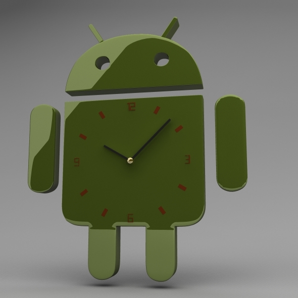 Android Clock - 3DOcean Item for Sale